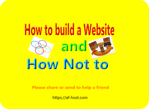 Creating a Website the right way!